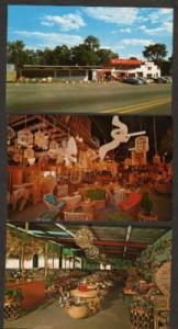 PUTNEY VERMONT VT Lot Basketville Store Postcard Basket