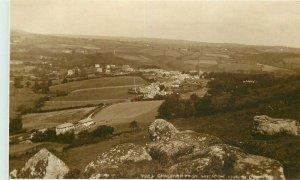 Devon 1920s Chagford UK RPPC Photo Postcard Judges 20-11583