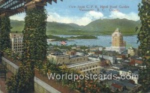 CPR Hotel Roof Garden Vancouver British Columbia, Canada 1936