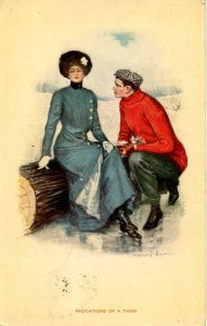 Indications of a Thaw     Artist: Clarence Underwood