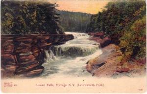 Lower Falls, Portage NY