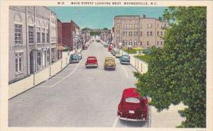 Main Street Looking West Waynesville North Carolina