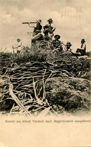 South Africa - Cape Colony, Magersfontein. December 11, 1899, Boer Farmers Sc...