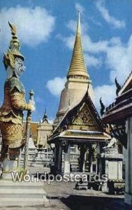 Bangkok Thailand Golden Stupa, Wat Phra Keo  Golden Stupa, Wat Phra Keo
