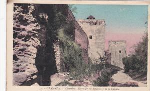 GRANADA , Spain , 00-10s : Alhambra. Torres de las Infants y de la Cautiva