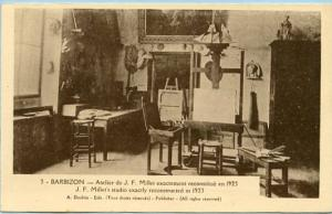 France - Barbizon, J.F. Millet's Studio exactly reconstructed in 1923