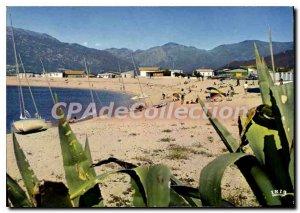 Postcard Modern Propriano The Beach