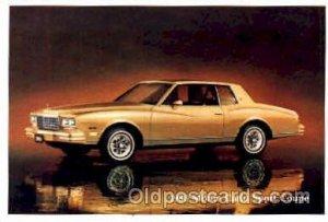 1980 Monte Carlo Sport Coupe Automobile Unused