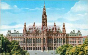 Postcard Modern Vienna City Hall