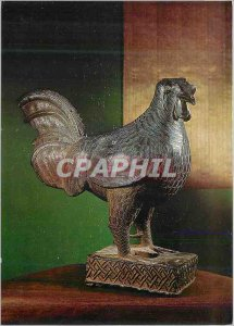 Postcard Modern Bronze sculpture Nigeria Benin 44 cms tall (Koln Restenstrauc...