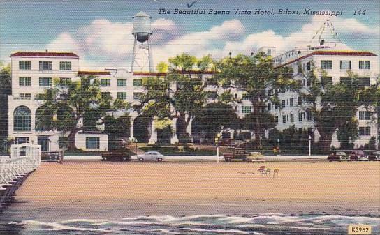 Mississippi Biloxi The Beautiful Buena Vista Hotel