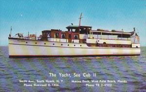 Sea Cub II Sightseeing Boat West Palm Beach Florida