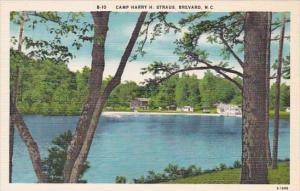 North Carolina Brevard Camp Harry H Straus