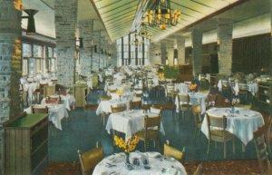 JASPER, Alberta, Canada, 1940-60s; Interior Jasper Park Lodge, Dining Room