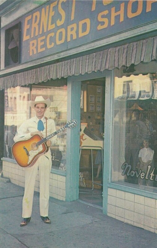NASHVILLE , Tennessee, 50-60s ; Ernest Tubb Record Shop
