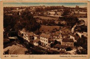 CPA BELLAC Faubourg de Chapterie-en-Brette (390575)