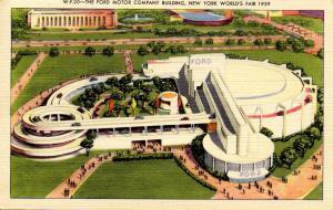 NY - 1939 New York World's Fair. Ford Motor Company Building