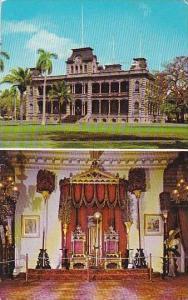 Hawaii Honolulu Iolani Palace 1972