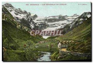 Old Postcard Gavarnie Cirque General view