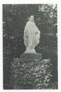 FULTONVILLE, New York, 1900-10s; Statue of Our Lady on the Grounds