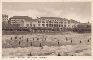 Natal: Bathing Enclosure, DURBAN, South Africa, 10-20s
