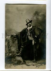 261463 Angelo MASINI Italian OPERA Singer Vintage PHOTO PC