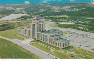 Aerial View, Confederation Building, Provincial Government Departments, St. J...