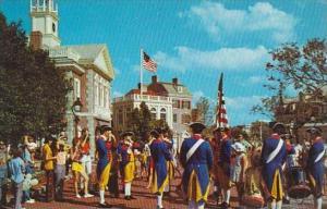 Florida Walt Disney World Liberty Square Fife And Drum Corps