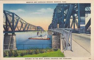 Memphis And Harrahan Bridges, Memphis, Tennessee, 1930-1940s