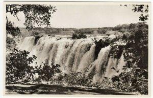 Zambia; Eastern Cataract, Victoria Falls, 103 RP PPC, By Salmon, Unused, c 30's