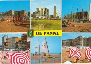 Belgium, De Panne, 1992 used Postcard