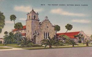 Florida Daytona Beach The Tourist Church