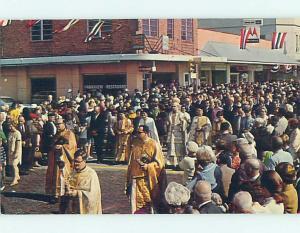 Pre-1980 PARKVIEW RESTAURANT BEHIND CEREMONY Tarpon Springs Florida FL hn1635