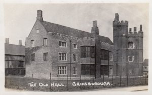 RP:GAINSBOROUGH , Lincolnshire , England , 1910-30s ; The Old Hall