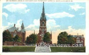 St. Marie's Church Convent Manchester NH Unused