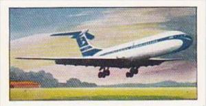 Amaran Tea Trade Card 20th Century Science No 21 Jet Aircraft