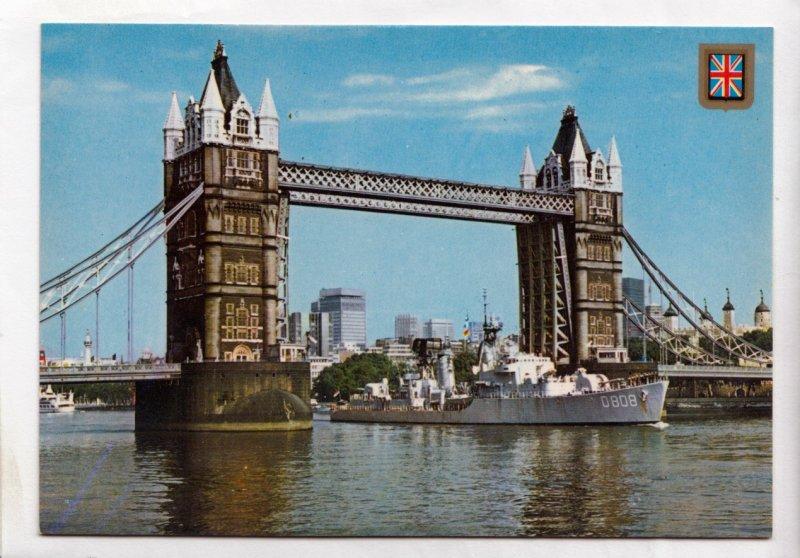 LONDON, Tower Bridge, unused Postcard