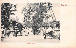 Colpetty Road, Colombo, Ceylon, Early Postcard, unused