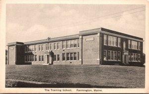 Maine Farmington The Training School