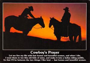 Cowboy's Prayer -