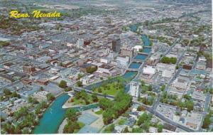 Nevada Reno Aerial View