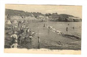 La Place Du Chay, People Bathing, Royan (Charente-Maritime), France, 1900-1910s