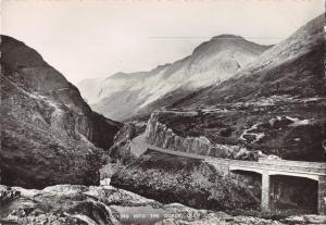 GLEN COE SCOTTISH HIGHLANDS SCOTLAND UK~LOOKING INTO THE GORGE PHOTO POSTCARD