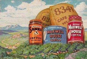 SANKA & MAXWELL House Coffee , 50-60s