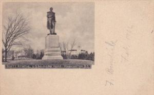 Washington D C Scott Statue U S Soldiers' Home Albertype
