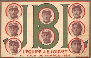 JBJ Lequipe JB Louvet 1926 Du Tour De France Unused