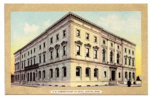 Boston Music Conservatory Gold Border Julius Bien 1908 MA