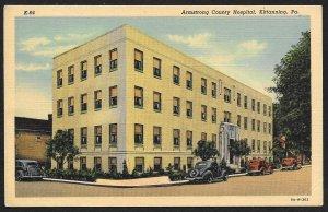 Armstrong County Hospital Kittanning Pennsylvania Unused c1938