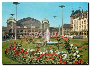 Postcard Modern Switzerland Basel SBB Train