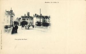 CPA MANTES-la-JOLIE-Vue prise du Pont (260620)
